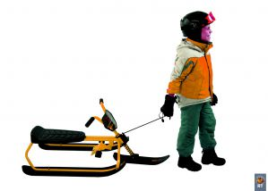Снегокат Snow Moto SnowRunner SR1 ORANGE