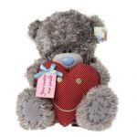 Мишка Тедди с сердцем, 30см.