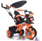 Детский велосипед INJUSA CITY TRIKE Aluminium orange 326/001