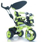 Детский велосипед INJUSA CITY TRIKE Aluminium green verde 3263/002