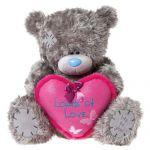 Мишка Тедди держит сердце Loads of Love. 61см