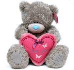 Мишка Тедди держит сердце I love you 41 см